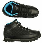BRAND NEW MENS VOI SHOES BIG SIZE HUMMER BLACK HI TOP BOOTS ALL SIZES 7 TO 15