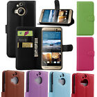 Luxury Practical Leather Card Wallet Stand Flip Case Cover For HTC ONE MAX