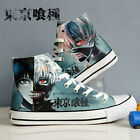 Anime Tokyo ghouls Ken Kaneki Cosplay Fans High Ankle Canvas Sneakers Shoes