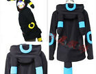 NEW Anime Pokemon Umbreon Women Men Cosplay Zip Hoodie Jacket Kigurumi Pajamas
