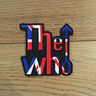 THE WHO UNION JACK CUT OUT SEW ON PATCH NEW