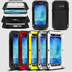 Waterproof Shockproof Aluminum Metal Case Gorilla Glass For Samsung Galaxy A8