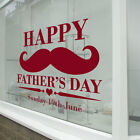 Fathers Day Window Stickers & Wall Happy Dad Decals Shop A Window Display A348