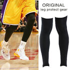 One Pair Outdoor Black Leg Knee Sleeve Basketball Bike Compression Protect Gear