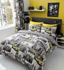World Cities Theme NYC Paris London Luxurious Duvet Cover Sets Bedding Sets GC