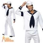 Adult Village People Navy Costume Mens YMCA 1970s Licensed Fancy Dress Outfit