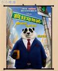 Anime Movie Zootopia Home Decor Wall Scroll Poster 40*55CM & 60*80CM Z228