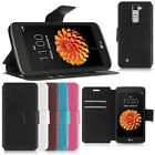 PU Leather Magnet Flip Wallet Cover Case Stand For LG K7 X210/DS Tribute 5 LS675