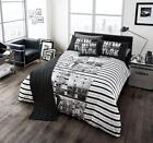 New York City Stripe 5 pieces Duvet / Quilt Covers Bedding Sets Runner included