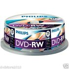 25 Philips DVD -RW 4,7 GB
