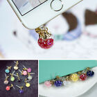 New Bling Bubble 3.5mm Anti Dust Cap Earphone Jack Plug Stopper For Mobile Phone