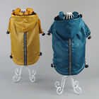 Royal Pooch Clothing for Pet  Dog Raincoat Pet Jacket Reflective Hood Drawstring