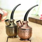 Copper Shisha Hookah Water Smoking Pipe Tobacco Pipes Cigarette Filter Holder
