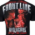 T-SHIRT EXTREME HOBBY FRONT LINE HOOLIGANS FOOTBALL SUPPORTERS ULTRAS RED PRINT