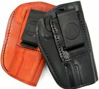 TAGUA Leather 4-in-1 IWB Inside Pants & OWB Belt Holster - Choose Gun & Color!