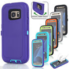 Hybrid Rugged Shockproof Dirt proof Full Hard Case Cover Fr Samsung Galaxy S7/S8