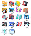 One Pieces Totoro Gintama Narutos Hell Girl Anohana Cosplay PU Wallet Purse New