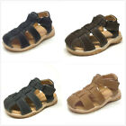 Brand New Toddler Boys Fisherman Cribs Sandals Size 7 ~ 12