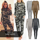 Kids Girls Tracksuit Girls Camo Camouflage Loungewear jogger 2pc Set 7-13 years
