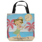 BETTY BOOP HULA BOOP LIGHTWEIGHT TOTE BAG 2 SIDED PRINT $28.39 USD