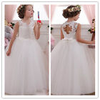 Flower Girl Dresses for Wedding Birthday Communion Prom BallGown Pageant PartyM