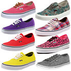 Mens, Womens Vans Authentic Canvas Pumps Plimsolls Classic Low Trainers Shoes...