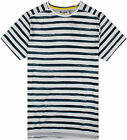 Only & Sons Seth T-Shirt in Stripe Blue or Red Off White RRP £12.99 *BNWT*