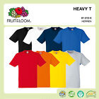 FRUIT OF THE LOOM T-SHIRT HEAVY COTTON SHIRT SCHWERE QUALITÄT GR. S - 3XL F182