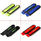 Fixed Gear Fixie Bike Bicycle Double  Nylon Clip Pedal Toe Strap Belt WS