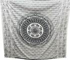 New Indian 100%Cotton Double  King  Queen Size Bed Sheet tapestry