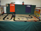 """AFX track set 2(c) loop,  two 180 degrees 9 & 12 banks,  added 7',  area 7'9""""X4'"""
