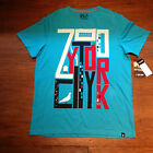 Zoo York Sky High Casual T-Shirt New Turquoise - Size:L