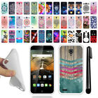 For Alcatel OneTouch Conquest 7046T TPU SILICONE Protective Case Cover + Pen
