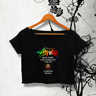 STUSSY SHIRT STUSSY WORLD TOUR SHIRT NEW LOGO TSHIRT WOMEN CROP TOP TEE AY_51B