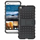 Dual Layer Shockproof Cover Hybrid Rugged Case with Kickstand for HTC One X9