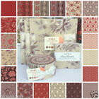 MODA Ville Fleurie by French General 100 % cotton jelly rolls & charm packs