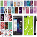 For BlackBerry Z10 TPU SILICONE Rubber SKIN Soft Protective Case Cover + Pen