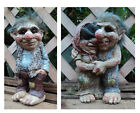 Fun Novelty Viking Dam Ugly Troll Gnome Gift Ornament Statue Garden Outdoor Home