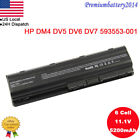 Notebook Battery for HP Pavilion MU06 CQ42 593553-001 593554-001 G6 CQ62 CQ72
