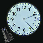 New Cold Light Beam Wall Clock LED Analogue Projection Bedroom Decor Home Hotel
