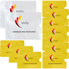 RFID High Level Blocking Sleeves (10 Credit Card &amp; 2 Passport) Anti Theft Shield <br/> Protector ID Holder Secure Waterproof 1 Year Warranty