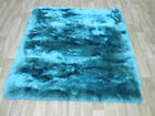 ACRYLIC VISCOUS VISCOSE BLUE BLACK SAGE GREEN SMALL MEDIUM WARM CHINESE RUG RUGS