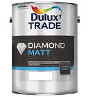 Dulux Trade Diamond Matt Brilliant White  5.0L