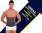 Mens Latex Waist trainer workout sport Shapewear Band Ab Control and Compression