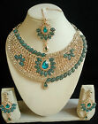 Traditional Indian Bollywood Bridal Fashion Jewelry Swarovski Diamante Set
