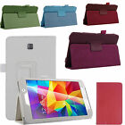 Leather Folio Stand Case Cover Wake/Sleep For Samsung Galaxy Tab Tablet US Stock