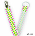 Baby Anti-lost Dummy Pacifier Soother Nipple Clip Holder Hot Leash Strap Chain