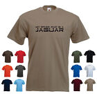 'My Other Car is a Jaguar' Men's Car Funny Gift Birthday T-shirt