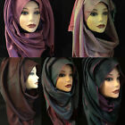 Luxury high quality silk blend hijab, scarf, women's shawl.