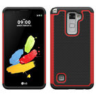 Dual Layer Shockproof Hybrid Silicone Case for LG Stylus 2/LG G Stylo 2 LS775
